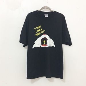Vintage/looney tunes Sylvester and tweety bird tee